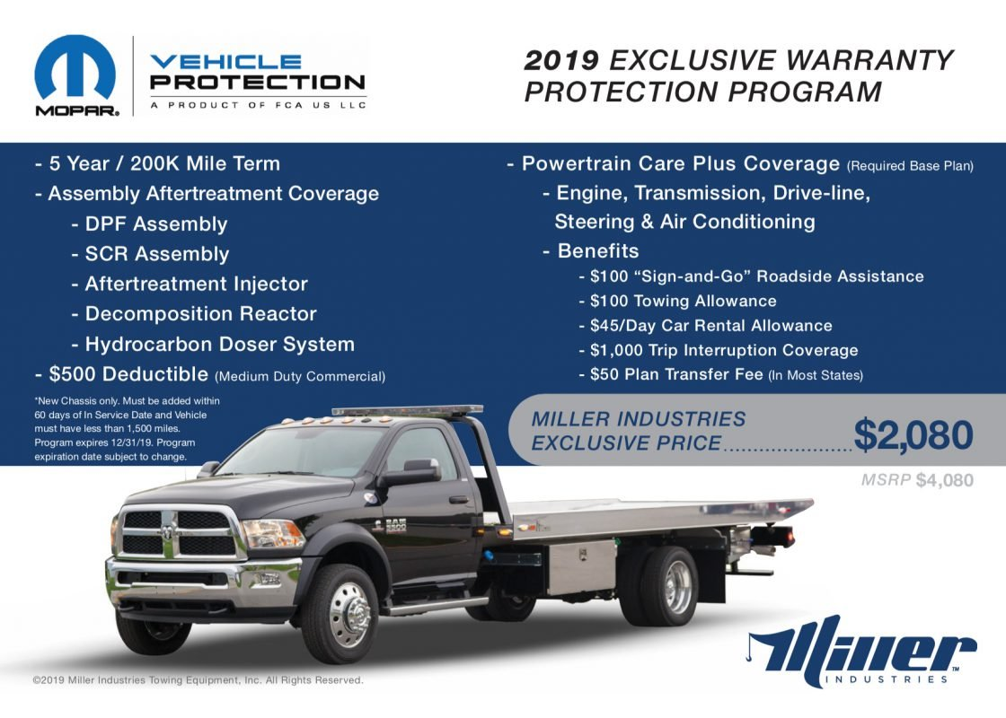 Miller Industries Exclusive Warranty