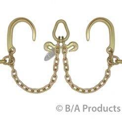 """V-Chain; 8"""" J Hooks & Hammerhead™ T-J Combo Hooks"""